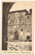 Z3697 Castiglion Fiorentino (Arezzo) - Palazzo Comunale - Municipio / Viaggiata 1929 - Italia