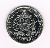 )  VENEZUELA  2  BOLIVARES  1989 - Venezuela