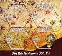 Turquie Türkiye Bf 074 Cartes Géographiques, Explorateur , Marine - Aardrijkskunde
