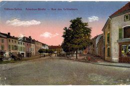 CPA N°5882 - CHATEAU SALINS - ACKERBAU STRASSE - RUE DES CULTIVATEURS - Chateau Salins