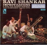 * LP *  RAVI SHANKAR - IMPROVISATIONS & THEME FROM PATHER PANCHALI (England 1968) - Wereldmuziek