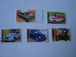 GREECE USED STAMPS SET  2005  CAR CARS  LEGEDARY CARS - Used Stamps