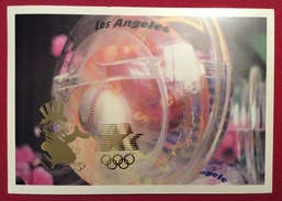 BASEBALL  OLIMPIADI LOS ANGELES 1984 CARTOLINA ED ANNULLO SPECIALE S.GIOVANNI IN PERSICETO 16/12/1984 - Autographes
