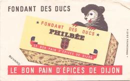 Buvard  Fondant Des Ducs Philbée ( Pliures ) 21 Cm X 13,5 Cm - Gingerbread