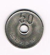 )  JAPAN  50 YEN   1973 ( 48 ) - Japon