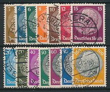 D. Reich Nr. 482-495 (WZ 2) ~ Michel 70,-- Euro - Used Stamps