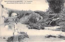 EVENEMENTS - Catastrophe - (64) ST ETIENNE DE BAIGORRY Les Inondations - Arbres Abattus .. CPA Pyrenéees Atlantiques - Rampen