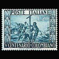 ITALY 1951 - Scott# 578 Columbus Set Of 1 MNH - 1946-60: Ungebraucht