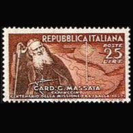 ITALY 1952 - Scott# 612 Catholic Mission Set Of 1 MNH - 1946-60: Ungebraucht