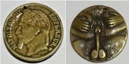 Monnaie Satyrique / érotique Napoléon III - France