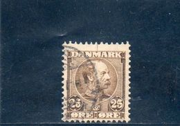 DANEMARK 1904 O - 1905-12 (Frederik VIII)