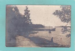 Old Postcard Of Seurasaari-Folison, Helsinki, Finland.Posted,Y42. - Finland