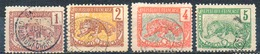 Colonies Françaises & Protectorats - (CONGO FRANCAIS) - 1900-04 - N° 27 à 30 - (4 Valeurs Différentes) - Congo Français (1891-1960)