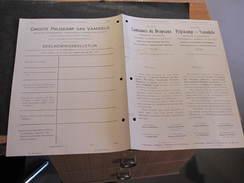 SAINT-GILLES-LEZ-BRUXELLES - 12/6/1914 - GRAND CONCOURS DE DRAPEAUX - REGLEMENT ET BULLETIN D'ADHESION - Vieux Papiers