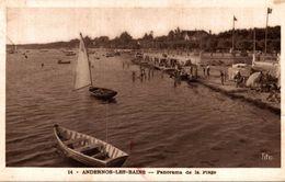 ANDERNOS LES BAINS PANORAMA DE LA PLAGE - Andernos-les-Bains