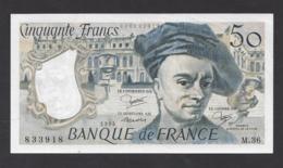 50 Francs  Quentin De La Tour  1984 - 1962-1997 ''Francs''