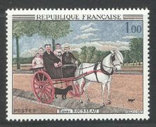 France 1967,Art,Painting By Henry Rousseau,Scott 1172,VF MNH**OG (FC-4) - France