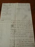 1824 Document Italien Non Déchiffré  (origine Intendenza Generale Di NIZZA (ancien Nom De La Ville De NICE)) - Documents
