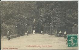 Régnière-Écluse-Entrée Du Château-(CPA) - Francia