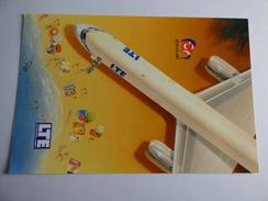 AIRLINE ISSUE / CARTE COMPAGNIE     LTE  INTERNATIONAL AIRWAYS  B 757 200 - 1946-....: Era Moderna