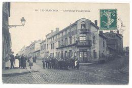 Cpa Le Chambon - Carrefour Feugerolles ( S2088) - Le Chambon Feugerolles