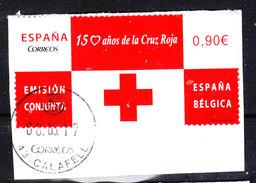 Spagna   Spain  -   2013. Croce Rossa. Da Foglietto Con Belgio - Croce Rossa