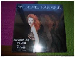 MYLENE  FARMER   °  SOUVIENS TOI DU JOUR  DANCE REMIX  MAXI 33 TOURS  NEUF SOUS CELOPHANE - 45 T - Maxi-Single