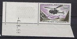 """FR Aerien YT 37 (PA) """" Prototype, Alouette """" 1957-59 Neuf** BDF Daté - 1927-1959 Mint/hinged"""