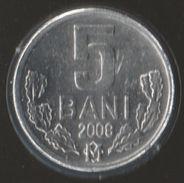 MOLDOVA 5 BANI 2008 KM# 2 - Moldova