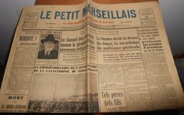 Le Petit Marseillais.Mercredi 17 Novembre 1937. - Zeitungen