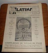 Latins. Journal D'amitié Franco Italienne. Mai Juin 1935. - Newspapers