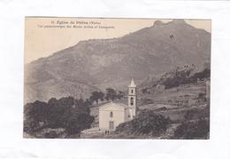 11.  Eglise  De  Piétra  (Niolo)  -  Vue Panoramique Des Monts Artica Et Campotile. - France