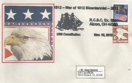 USS CONSTITUTION: World's Oldest Naval Vessel Afloat.,  War Of 1812 Bicentennial Letter - Bateaux