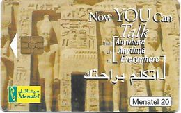 @+ Egypte - Abu Simbel - Menatel 2001 - Egypte