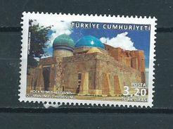 2016 Turkey Hoca Ahmed Used/gebruikt/oblitere - 1921-... Republiek