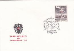 Austria Wien 1974 50. Jahre Olymnpische Winterspiele Chamonix (SKO14-21) - Winter 1924: Chamonix