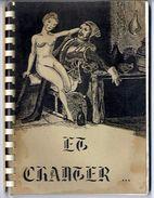 EN CHANTER     PETIT HISTORIQUE DE LA PAILLARDE  -  94 PAGES  LIVRE ADULTES - Culture