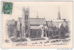 22749 CANADA QUEBEC Montreal St George's Church Dominion Square -imperial Series 447 Attelage - Montreal