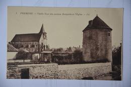 PREMERY-vieille Tour Des Anciens Remparts Et L'eglise - Autres Communes