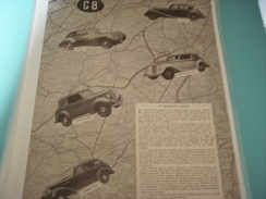 ANCIENNE PUBLICITE VOITURE ANGLAISE HEALEY-JAGUAR-ARMSTRONG-HUMBER-HILLMANN - Cars