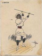 Chromo High Life Tailor, Paris - Série Les Sports - Le BATON - Illust. Guillaume - Autres