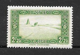Colonie Française : ALGERIE  N° 121 Neuf **  TB - Neufs