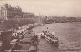 England London Thames Embankment