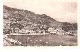 POSTAL  - MONACO   - EL PUERTO-VISTA SOBRE MONTE-CARLO  (LE PORT-VUE SUR MONTE-CARLO ) - Puerto