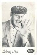 Johnny Otis  ( 2 X Scan) Promotiekaart (muziekgroep / Artiesten) - Artiesten