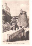 POSTAL  - MONACO   - SUBIDA AL PALACIO LA RAMPA MAYOR  ( MONTÉE DU PALAIS LA RAMPE MAJOR ) - Mónaco