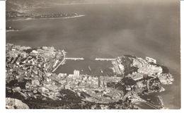 POSTAL  - MONACO   - VISTA AEREA DE MONTECARLO  ( MONTECARLO VUE AÉRIENNE ) - Mónaco