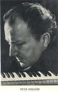 Peter Kreuder( 2 X Scan) Promotiekaart (muziekgroep / Artiesten) - Artiesten