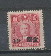 CHINE  - SUN YAT-SEN - N° Yt 647 (*) - China