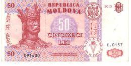 Moldova P.14 50 Lei 2013 Xf - Moldavia